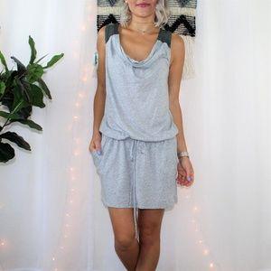 Michael Stars Heather Gray Dress W/Pockets